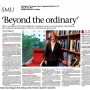 Beyond the Ordinary - Tri-Sector Collaboration article - Sunday Times